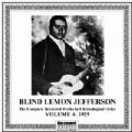 Blind Lemon Jefferson Vol 4 (1929)