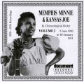 Memphis Minnie & Kansas Joe Vol 2 1930 - 1931