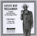 Sonny Boy Williamson Vol 2 1938 - 1939
