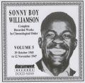 Sonny Boy Williamson Vol 5 1945 - 1947