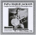 Papa Charlie Jackson Vol 1: August 1924 to February 1926
