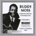 Buddy Moss Vol 1 1933