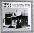 Texas Blues 1927 - 1935
