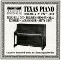 Texas Piano Vol 2 1927 - 1938