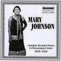 Mary Johnson 1929 - 1936
