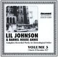 Lil Johnson & Barrelhouse Annie Vol 3 1937