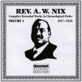 Rev A W Nix Vol 1 1927 - 1928