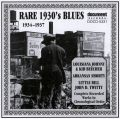 Rare 1930s Blues Vol 1 1934 - 1937