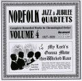Norfolk Jazz & Jubilee Quartets Vol 4 1927 - 1929