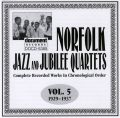 Norfolk Jazz & Jubilee Quartets Vol 5 1929 - 1937
