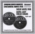 Carolina Gospel Quartets Vol 1 1938 - 1939