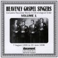 Heavenly Gospel Singers Vol 1 1935 - 1936