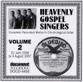 Heavenly Gospel Singers Vol 2 1936 - 1937