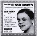 Original Bessie Brown / Liza Brown 1925 - 1929