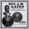 Rev J M Gates Vol 7 1929 - 1930