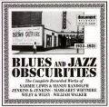 Blues Obscurities 1923 - 1931