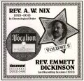 Rev A W Nix & Rev Emmett Dickinson Vol 2 1928 - 1931