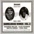Barrel House Women Vol 2 1924 - 1928