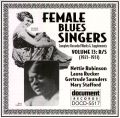 Female Blues Singers Vol 13 R/S 1921 - 1931