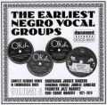 Earliest Negro Vocal Groups Vol 4 1921 - 1924