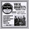 Vocal Quartets Vol 1 A/B/C 1928 - 1940