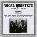Vocal Quartets Vol 6 S 1926 - 1944