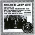 Black Vocal Groups Vol 5 1923 - 1941