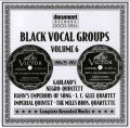 Black Vocal Groups Vol 6 1926 - 1943