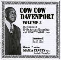 Cow Cow Davenport Vol 3 1940's