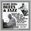 Rare 1920s Blues & Jazz 1923 - 1929