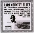 Rare Country Blues Vol 3 1928 - 1936