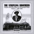 The Stripling Brothers Vol 1 1928 - 1934