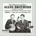 The Chattanooga Boys Allen Brothers Vol 1 1927 - 1930