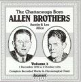 The Chattanooga Boys Allen Brothers Vol 3 1932 - 1934