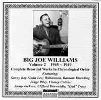 Big Joe Williams Vol 2 1945 - 1949