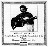 Memphis Minnie Vol 1 1935