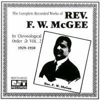 Rev F W McGee Vol 2 1929 - 1930
