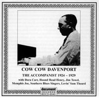 Cow Cow Davenport The Accompanist 1924 - 1929