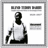 Blind Teddy Darby 1929 - 1937