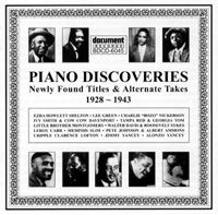 Piano Discoveries 1928 - 1943