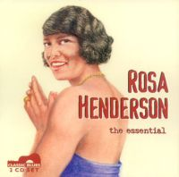 Rosa Henderson, the essential <b> DOUBLE CD</b>
