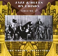Jazz And Blues On Edison Volume 2