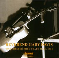 Reverend Gary Davis  - Manchester Free Trade Hall 1964