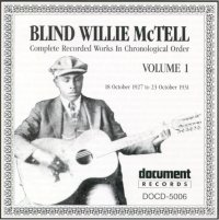 Blind Willie McTell Vol 1 1927 - 1931