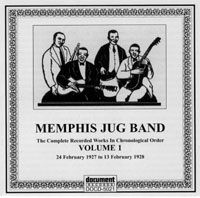 Memphis Jug Band Vol 1 1927 - 1928