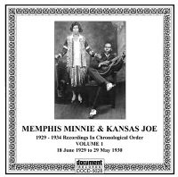 Memphis Minnie & Kansas Joe Vol 1 1929 - 1930