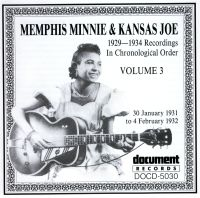 Memphis Minnie & Kansas Joe Vol 3 1931 - 1932