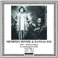 Memphis Minnie & Kansas Joe Vol 4 1933 - 1934