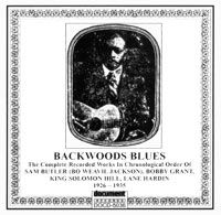 Backwoods Blues 1926 - 1935