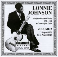 Lonnie Johnson Vol 2 1926 - 1927